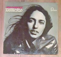 Joan Baez x3 - In Concert, Vol. 2 + Farewell Angelina Vinyl Lps 33rpm 1960's