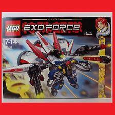 LEGO Exo-Force Aero Booster 8106 (8106) Exoforce passt zu 7709 8105 7701 rar Neu