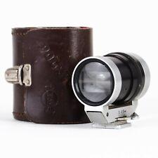 :Tewe Polyfocus Zoom Multifocal Viewfinder for 35-200mm Lenses w/ Case [EX+++]