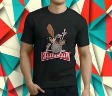 New Popular Captain Caveman Cartoon Men's Black T-Shirt S-3XL