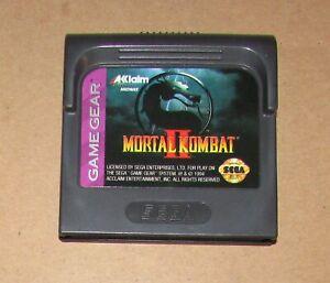 Mortal Kombat II for Sega Game Gear Fast Shipping Authentic