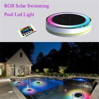 Solar LED Underwater Floating Disco Light Swimming Pool Pond Tub SPA Lamp AU