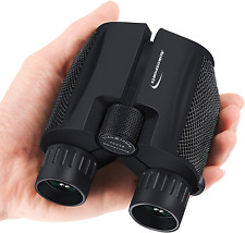Small Binoculars For Bird Watching Travel Concerts Hunting Hiking Compact 10x25