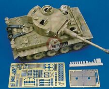 Royal Model 1/35 Tiger I (Early Version) Tank Update Set WWII (for Academy) 140