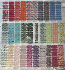 Jamberry Nail Wraps Half Streets Full Sheets Color Stickers Retired Florals