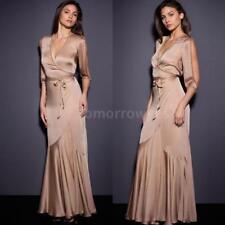 Women's V Neck Cocktail Plus Size Ballgowns