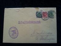 Altdeutschland Württemberg  1911 - Brief  Dienstumschlag Feuerbach - Böbling