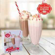 Milkshake verres set de 2 style américain 2oz/340ml sundae verres