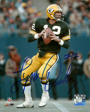 Packers QB LYNN DICKEY Signed 8x10 AUTO 1st Year Photo #2  Packer Hall of Famer