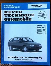 RTA du 12/1992; Citroën ZX à moteur TU, Reflex, avantage, Aura