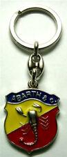 FIAT 500 F/L/R 126 PORTACHIAVI LOGO STEMMA ABARTH SCUDETTO 124 131 128 600 A 112