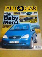 AUTOCAR - BABY MERC 11 Dec 1996 Vol 210 No 11