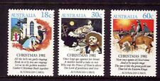 AUSTRALIA 1981 Christmas set MUH