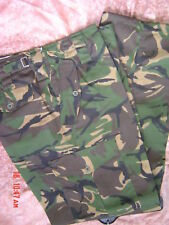 CAMOUFLAGED COMBAT ARMY CARGO TROUSERS sz 42 forest DPM