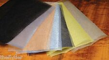NO FRAY WING MATERIAL 5 Colors 5 Pack Combo -- Fly Tying Lot