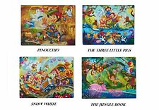 New Classic 35-Piece Puzzle 4-Pack Bundle, Expedited Shipping