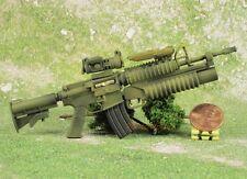 1:6 Scale Action Figure MODERN FIREARM M4A1 RIFLE + GRENADE LAUNCHER M203 G13