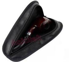 Custodia con cerniera portapipe in pelle tascabile per pipa tasca porta tabacco