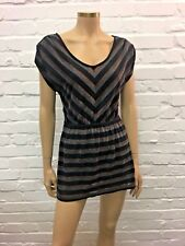 Springfield Edgy Striped Cotton Blend Day Dress Size S Hugely Versatile