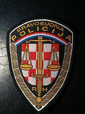 EXTRA RARRE - PRAVOSUDNA POLICIJA REPUBLIKE HRVATSKE -CROATIAN JUDICIAL POLICE !