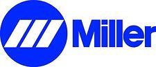 "Miller Welder Wide Decal Sticker - 20"" Wide - Set Of 2 - Blue"