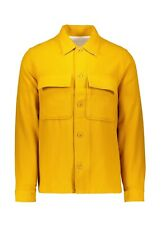 Norse Projects Kyle Wool Overshirt Jacket - Small - Mustard Yellow - Brand New