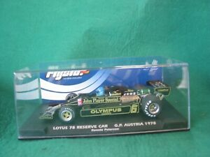 FLY  058107 LOTUS 78 JOHN PLAYER SPECIAL #6 RESERVE CAR  BNIB SCALEXTRIC COMPAT