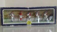 1960's GREECE ATHENA AOHNA TOY PLASTIC GREEK EVZONES SOLDIERS BOXED SET MADE IN