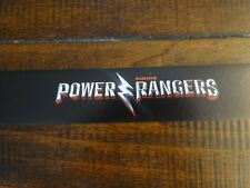 "Toys R Us STORE DISPLAY SIGN SHELF strip TALKER Power Rangers 48""long 1.25""high"