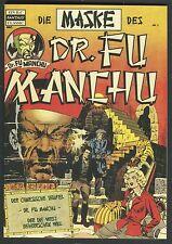 Die Maske des Dr. Fu Manchu Nr. 1 -  ilovecomics Verlag -    ilc- 13