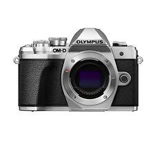 Olympus EM10 Mark III Silver Body 16MP Mirrorless Digital Camera