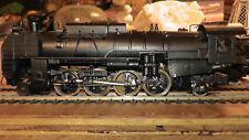Rare Handmade Engine H.O Brass JNR 2-8-2 Mikado Japanese National Railways Japan