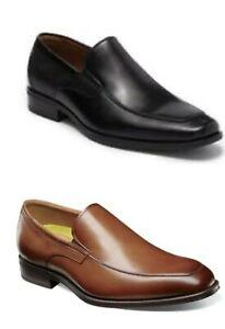 Men Florsheim Alanzo Moc Toe Venetian Loafer Leather