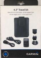 New Genuine Garmin 4.3inch GPS SAT NAV Travel Kit & Mains Charger 010-11305-34 B