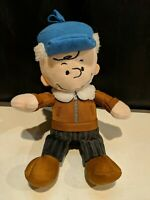 "Peanuts Charlie Brown Plush Blue Hat 10"""