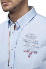 camicia dell'AERONAUTICA MILITARE nuova collezione 2016 col. Bianco e Celeste
