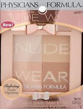 PHYSICIANS FORMULA Nude Wear Glowing Nude Powder, Light 6217 NEW