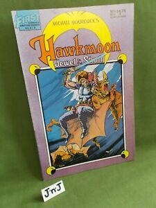 MICHAEL MOORCOCK'S HAWKMOON: JEWEL IN THE SKULL NOVEMBER 1986 Vol 1 No 4 SIGNED