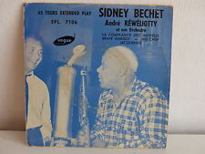 SIDNEY BECHET / ANDRE REWELIOTTY La complainte des infedeles EPL 7106