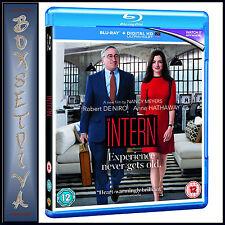 THE INTERN - Robert De Niro & Anne Hathaway   *BRAND NEW BLURAY **