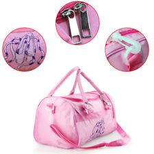 NEW Ballet Dance Bag Kids Girl Dancer Pink Ballerina Dancing Bag FREE POSTAGE