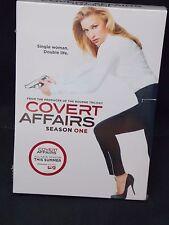 Covert Affairs - Season One - New DVD Set - Piper Perabo