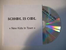 SCHOOL IS COOL : NEW KIDS IN TOWN [ CD SINGLE PORT GRATUIT ]