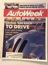 Autoweek Magazine Magazine Touring Super Leggera 328 May 21, 1990 011717RH