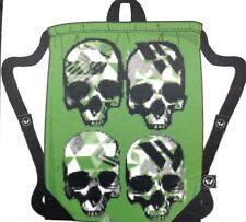 Shaun White Sling Bag Crossbody Shoulder Surf Snowboard Green Tote Skull Monster