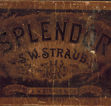 1888 Splendor, School College Sacred Secular Choir Voice Music Songs, S W Straub