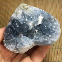 437g Natural celestite geode quartz cluster crystal Specimen Healing 63