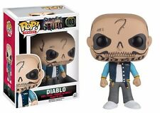 Funko Pop! Movies Suicide Squad El Diablo Vinyl Action Figure