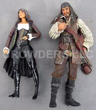 Captain Teague & Angelica Teach Action Figures Disney Pirates of Caribbean 2011