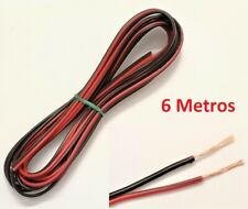 Pack de 100 MTS cable audio paralelo rojo / negro electro DH 49.062/0.50 8430552